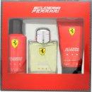 Ferrari Scuderia Ferrari Red Geschenkset 125ml EDT + 150ml Deodorant Spray + 150ml Hair & Body Wash