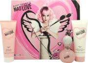 Katy Perry Mad Love Geschenkset 30ml EDP + 75ml Body Lotion + 75ml Duschgel
