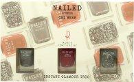 Nailed London Gel Wear Instant Glamour Geschenkset 3 x 10ml Nagellack (Knight Rider + London Conundrum + Rosie's Red)