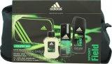Adidas Sport Field Geschenkset 100ml EDT + 150ml Body Spray + 250ml Duschgel + Tasche