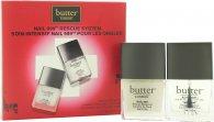 Butter London Nail 999 Rescue System Geschenkset 11ml Überlack + 11ml Unterlack