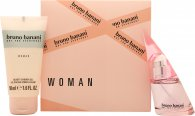 Bruno Banani Woman Geschenkset 20ml EDT + 50ml Duschgel