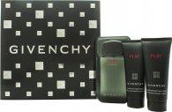 Givenchy Play Intense Geschenkset 100ml EDT + 75ml Duschgel + 75ml After Shave Gel