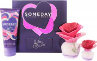 Justin Bieber Someday Geschenkset 50ml EDP + 100ml Body Lotion + 7.4ml Mini