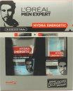 L'Oreal Men Expert Hydra Energetic Barber Shop Geschenkset 150ml Face Wash + 50ml Moisturising Gel