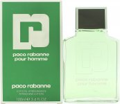 Paco Rabanne Pour Homme Aftershave 100ml Splash