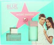 Antonio Banderas Blue Seduction for Women Geschenkset 50ml EDT + 100ml Body Lotion