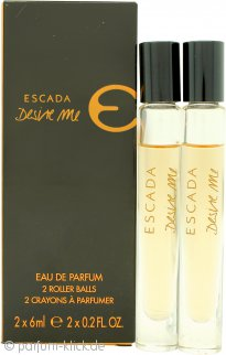 Escada Desire Me Miniaturen Geschenkset 2 x 6ml EDP Roll On