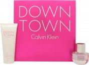 Calvin Klein Downtown Geschenkset 30ml EDP + 100ml Duschgel