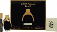 Lady Gaga Fame Geschenkset 50ml EDP + 10ml Roller Ball + Tattoo