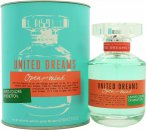 Benetton United Dreams Open Your Mind Eau de Toilette 80ml Spray