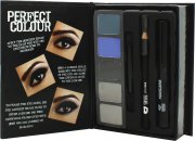 Jigsaw Perfect Colour Smoky Eyes Make Up Set - 8 Teile (Lidschatten + Kajal + Mascara + Applikatoren)