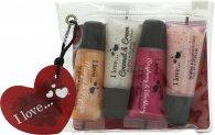 I Love... Lipgloss Geschenkset 4 x 5ml Lipgloss