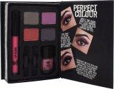 Jigsaw Perfect Colour Pastel Pretty Set - 8 Teile (Lidschatten + Lippengloss + Nagellack + Applikatoren)