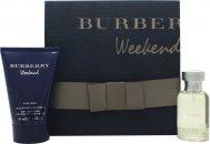 Burberry Weekend Geschenkset 50ml EDT + 100ml All Over Shampoo