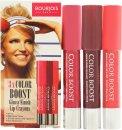 Bourjois Color Boost Geschenkset 3 x Lip Crayon