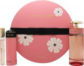 Prada Candy Florale Geschenkset 80ml EDT + 75ml Body Lotion + 10ml Roll On