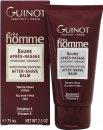 Guinot Trés Homme Moisturising & Soothing After Shave Balsam 75ml