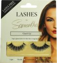Samantha Faiers Fake Eyelashes Glam It Up!